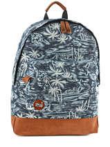 Sac A Dos 1 Compartiment Mi pac Bleu bagpack 740299